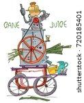 Sugarcane Motorized Press....
