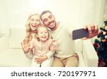 christmas  holidays  technology ... | Shutterstock . vector #720197971