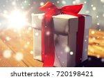 christmas  birthday  holidays ... | Shutterstock . vector #720198421