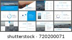 blue presentation templates... | Shutterstock .eps vector #720200071