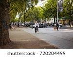 dusseldorf   june 1  2017  old...   Shutterstock . vector #720204499