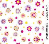 seamless tiling vector  texture ... | Shutterstock .eps vector #720215974