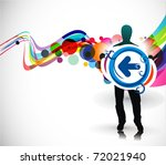 abstract background  standing a ...