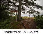 North Country Trail On Lake...