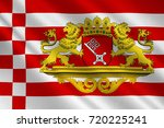 flag of the free hanseatic city ... | Shutterstock . vector #720225241