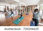 blurred background of... | Shutterstock . vector #720246625
