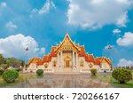 marble temple of bangkok ... | Shutterstock . vector #720266167