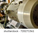 electrical motor drive... | Shutterstock . vector #720271561