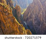 Closeup Black Canyon And...