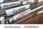 folder with close up on the...   Shutterstock . vector #720284965