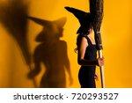 side profile shot of satanic...   Shutterstock . vector #720293527