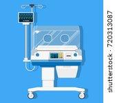 infant incubators machine... | Shutterstock .eps vector #720313087