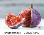 figs on a white background | Shutterstock . vector #720317347
