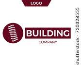 building company logo design.   ... | Shutterstock .eps vector #720328555