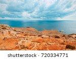 Coast Of Mnajdra Where The...