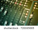 sound mixer control for live...   Shutterstock . vector #720335005