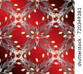 abstract wallpaper  wrapping... | Shutterstock .eps vector #720349381