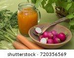 fruit and juice   Shutterstock . vector #720356569