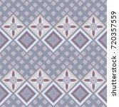 seamless damask pattern.... | Shutterstock .eps vector #720357559