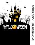 halloween card | Shutterstock . vector #720358801