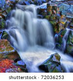 Colorful Scenic River Waterfal...
