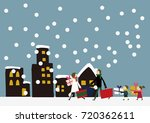 winter material.shopping.a...   Shutterstock .eps vector #720362611