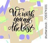 vector illustration. lettering. ...   Shutterstock .eps vector #720374101