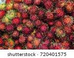 rambutan   Shutterstock . vector #720401575