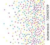 a frame of multicolored dot... | Shutterstock .eps vector #720405739