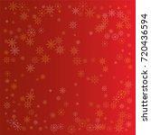 christmas snow powder... | Shutterstock .eps vector #720436594