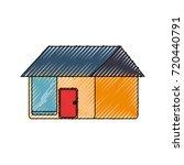 house  vector illustration | Shutterstock .eps vector #720440791