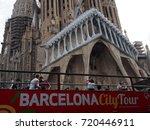 barcelona  spain   august 16 ...   Shutterstock . vector #720446911