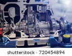 automatic transmission for bus... | Shutterstock . vector #720454894