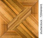 wooden parquet. flooring. | Shutterstock . vector #720464641