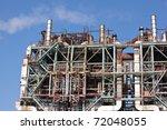 oil refinery | Shutterstock . vector #72048055