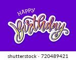 vector illustration.happy... | Shutterstock .eps vector #720489421