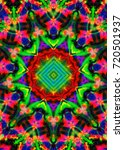 psychedelic background.bright... | Shutterstock . vector #720501937