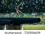 pathum thani   thailand 21 may  ... | Shutterstock . vector #720506659