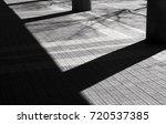 detail of city tiled sidewalk... | Shutterstock . vector #720537385