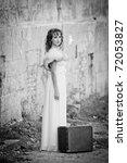portrait of young women in... | Shutterstock . vector #72053827