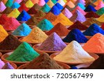 various spices selection. ... | Shutterstock . vector #720567499
