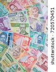 variety of the african banknotes | Shutterstock . vector #720570451