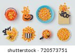 Halloween Holiday Candy Corn...