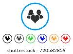 family love heart rounded icon. ...   Shutterstock .eps vector #720582859