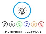 sperm penetration rounded icon. ... | Shutterstock .eps vector #720584071