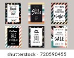 collection of elegant shiny...   Shutterstock .eps vector #720590455