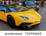 monte carlo   monaco   aug 13 ... | Shutterstock . vector #720596065