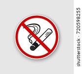 no smoking sign. no smoke icon. ...