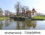 saarema castle and surroundings  | Shutterstock . vector #720608944