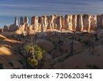 rock hoodoos landscape panorama ... | Shutterstock . vector #720620341